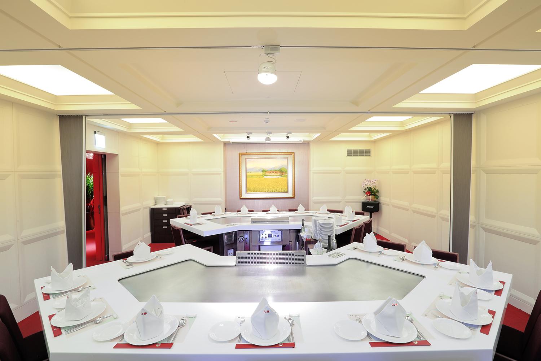 提供最高級舒適的用餐環境